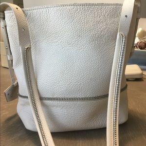 Botkier White Cross Body Bag